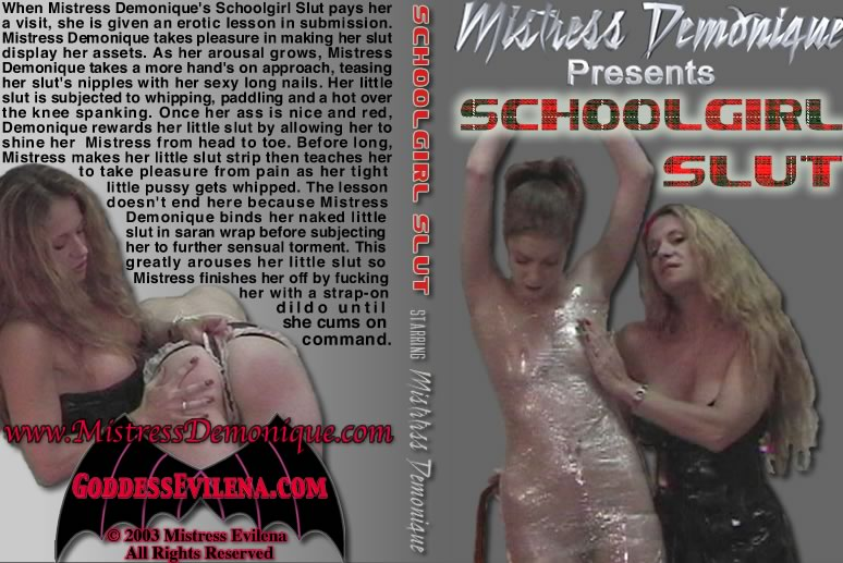 Mistress Demonique In Schoolgirl Slut